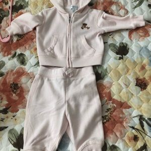 Ralph Lauren sweatshirt and pants size 3Months